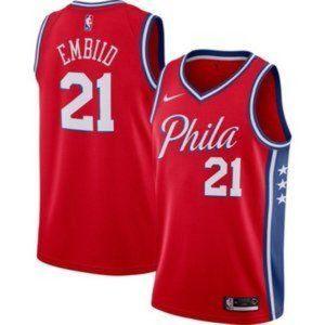 Men's Philadelphia 76ers Joel Embiid Jersey
